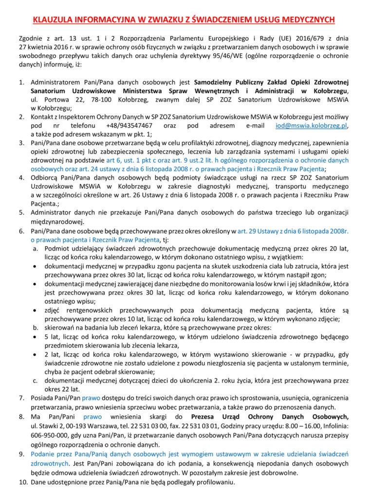 Polityka prywatności cz.1